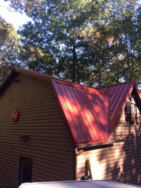Rustic Red Roof in Canton, GA