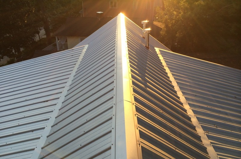 Ribbed Panel Metal Roofs
