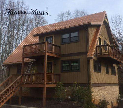 Standing Seam Metal Roof in Roswell, GA