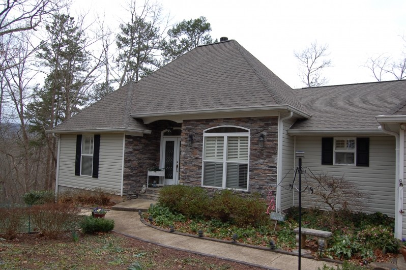 House with 3-Tab Shingles in North Georgia