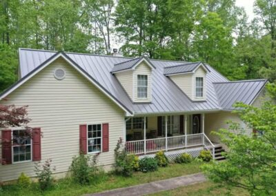 Canton Standing Seam Charcoal Metal