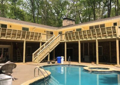 Deck Replacement Holly Springs