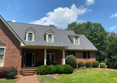 Roof Replacement Pewter Gray Ga