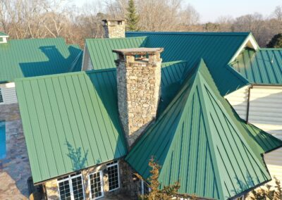 Standing Seam Green Roof Replacement