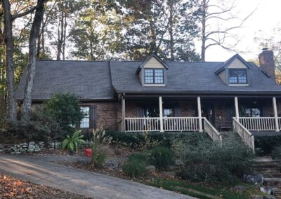 Weathered Wood Roof Replacement